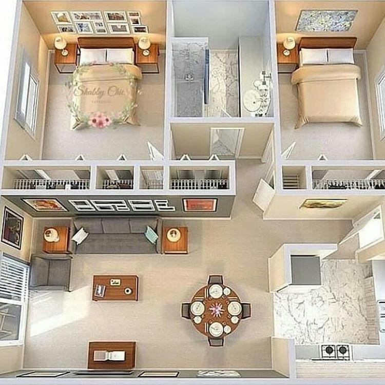 Rumah Tipe Minimalis, sumber ig dekorasirumahcantikmu