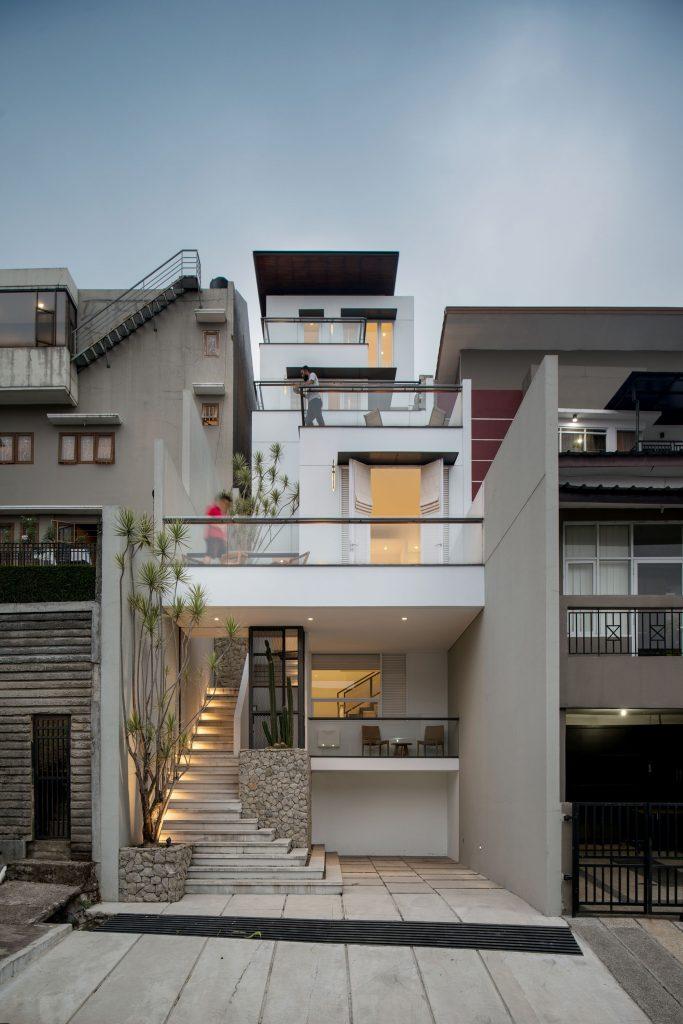 Ilustrasi Rumah di Perkotaan