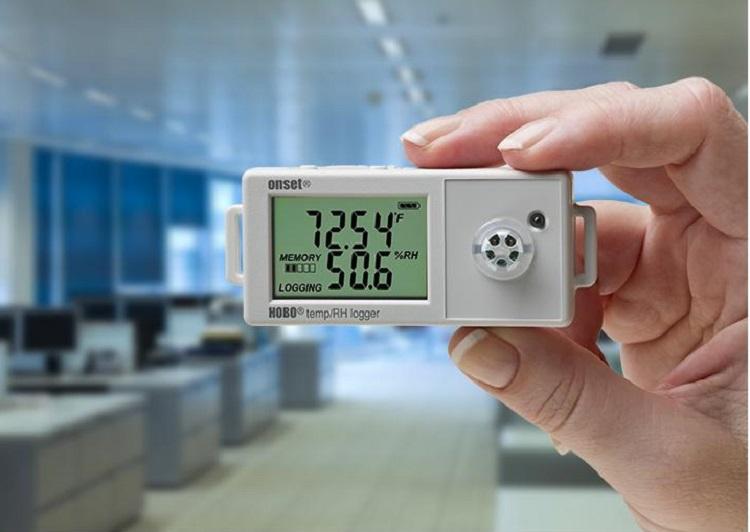 Alat ukur suhu dan kelembaban ruangan, Sumber : loggerindo.com