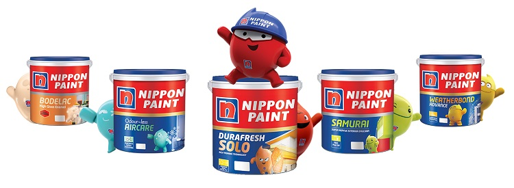 Nippon paint, Sumber : nipponpaint.co.in