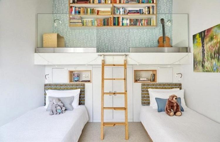 Desain mezzanine di dalam kamar, Sumber : Pinterest