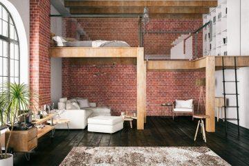 Mezzanine dari kayu, Sumber : courtina.id